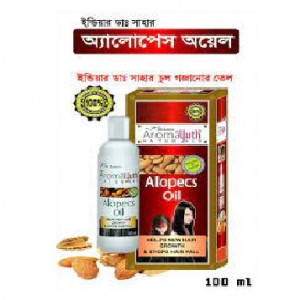 Aroma Yuth Natural almond Hair Alopecs Oil-100 ml