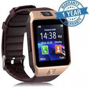 Smart Watch DZ09,  SIM and Bluetooth  002 - Multi color- GNG