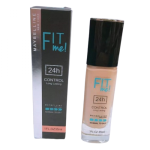Maybelline Fit Me 24Hr Control Long Lasting Foundation