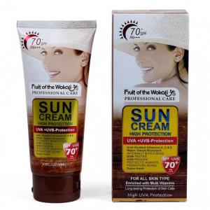 Fruit Of The Wokali Sun Cream High Protection 130ml SPF/UVB-70