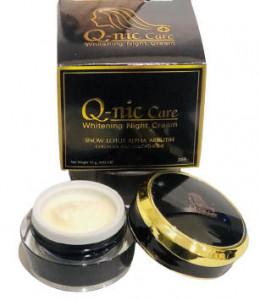Q-nic Care Whitening Night Cream - 15gm