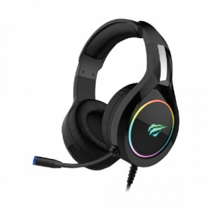 Havit H2232d 3.5mm Audio Jack+USB Gaming Headphone with Microphone