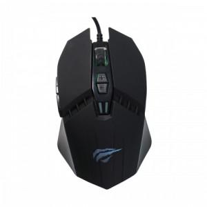 Havit MS1009 RGB Backlit USB Black Wired Gaming Mouse