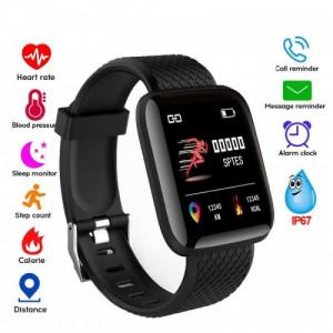 Smart watch Bracelets Fitness Tracker Heart Rate Step 116 Plus  - GNG