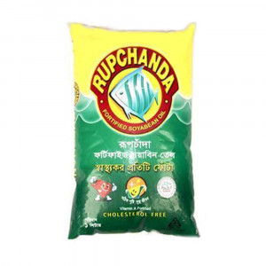 Rupchanda Soyabean Oil Poly 1 Litre