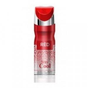 Stay Cool Red Body Spray 200ml