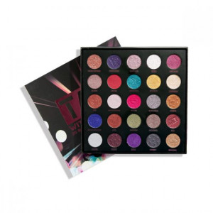 W7 Taxi Without Limits 25 Color Bold & Brilliant Pigments Eye Shadow Palette